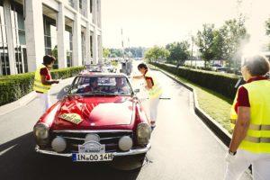 Mercedes-Benz SL-Club Pagode Jahrestreffen in Düsseldorf