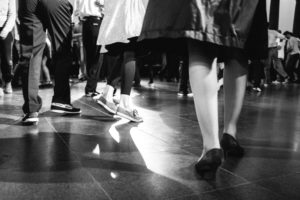 Lindy Hop-Party am KPMG-Kunstabend
